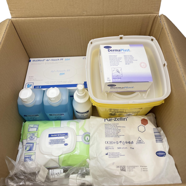 Impfbox - Eine Box, alles drin - Das 100er Patienten-Set