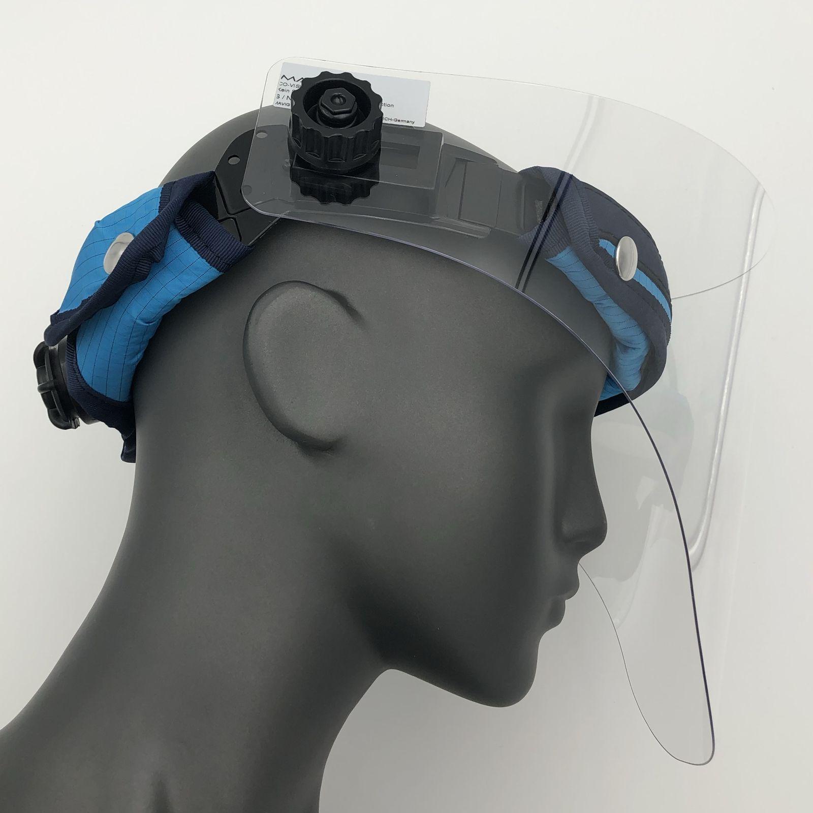 Gesichtsschutz Spritzschutz Visier Schutzmaske Hygiene Aufklappbar 400 g