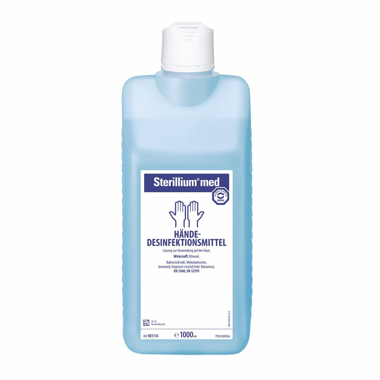 Sterillium® med 1000 ml Händedesinfektion Hand Haut Desinfektion Desinfektionsmittel